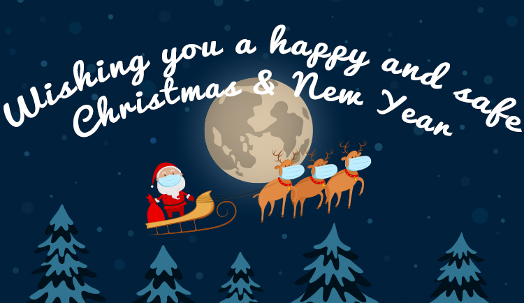 Wishing you a happy and safe Christmas